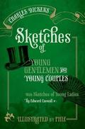 Scketches of young gentlemen and young couples