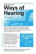 Ways of Hearing - Krukowski, Damon