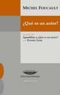 ¿Qué es un autor?