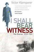 Diaries, 1: Shall be Witness 1933-1941