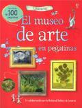 El museo de arte en pegatinas