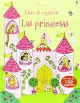Las princesas. Libro de pegatinas -