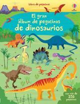 El gran álbum de pegatinas de dinosaurios -