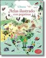 Atlas ilustrado con pegatinas - Lake, Sam