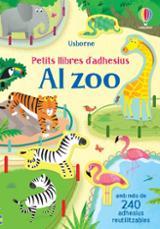 Petit llibre d´adhesius. Al zoo - AAVV