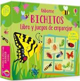 Bichitos. Libro y juegos de emparejar - AAVV