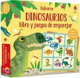 Dinosaurios. Libro y juegos de emparejar