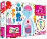 Libro y puzzle el cuerpo humano -
