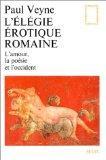 L´Elegie erotique Romaine