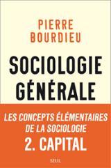 Sociologie Générale. 2. Cours au Collège de France 1983-1986