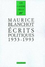 Écrits politiques, 1953-1993