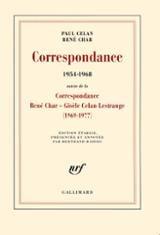 Correspondance 1954-1968. Suivie de la Correspondance René Char -