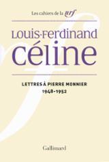 Lettres à Pierre Monnier