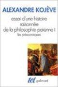 Essai d´une histoire raisonnée de la philosophie païenne, 1