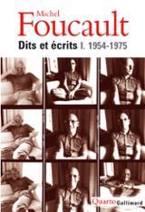 Dits et écrits I: 1954-1975