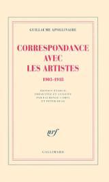 Correspondance avec les artistes: 1903-1918