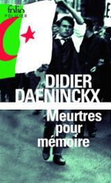 Meurtres pour mémoire - Daeninckx, Didier
