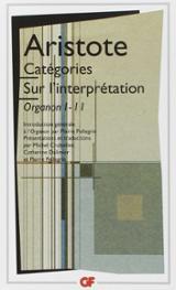 Categories. Sur l´interpretation. (Organon I-II)