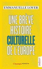 Une brève histoire culturelle de l´Europe