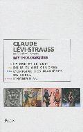 Coffret Claude Lévi-Strauss : Mythologiques en 4 volumes