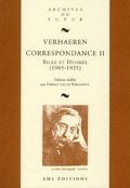 Correspondance. 2, Verhaeren-Rilke, Verhaeren-Dehmel