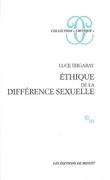 Ethique de la différence sexuelle