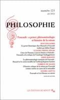 Philosophie. Foucault, a priori, phénoménologie et histoire de la