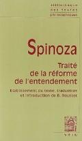 Traité de la reforme de l´entendement
