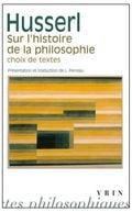 Sur l´histoire de la philosophie : choix de textes