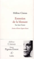 Entretien de la blessure: sur Jean Genet