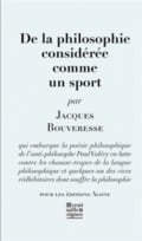 De la philosophie considerée comme un sport