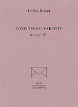 Confidence d´artiste