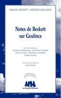 Notes de Beckett sur Geulincx