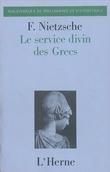Le service divin des Grecs : antiquités du culte religieux des Gr