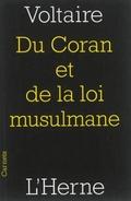 Du Coran et de la loi musulmane