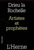 Artistes et prophètes