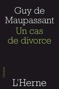 Un cas de divorce