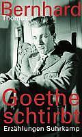 Goethe schtirbt - Erzählungen