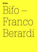 Documenta (13) nº 94. Bifo - Franco Berardi. Transversal
