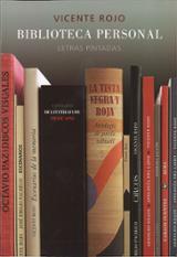 Biblioteca personal. Letras pintadas - Rojo, Vicente