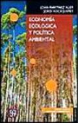 Economía ecológica y política ambiental - Martínez Alier, Joan