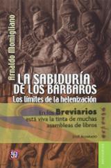 La sabiduría de los bárbaros - Momigliano, Arnaldo