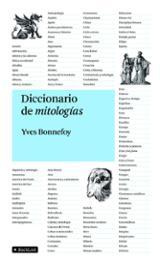 Diccionario de mitologías - Bonnefoy, Yves