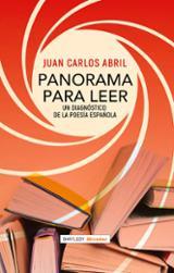 Panorama para leer. Un diagnóstico de la poesía española - Abril, Juan Carlos