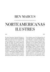 Norteamericanas ilustres - Marcus, Ben