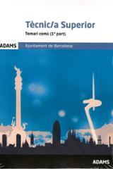 Temari comú tècnic superior de l´Ajuntament de Barcelona -