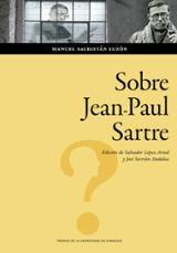 Sobre Jean-Paul Sartre - Sacristán Luzón, Manuel