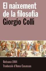 El naixement de la Filosofia - Colli, Giorgio