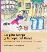 La gata Marga y la copa del Barça