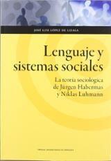 Lenguaje y sistemas sociales: la teoría sociológica de Jürgen Hab